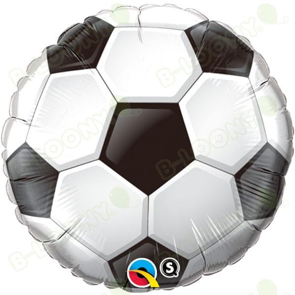 Qualatex 18 Inch Foil Balloon Soccer Ball