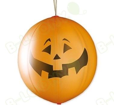 Halloween Pumpkin Punchball Balloons