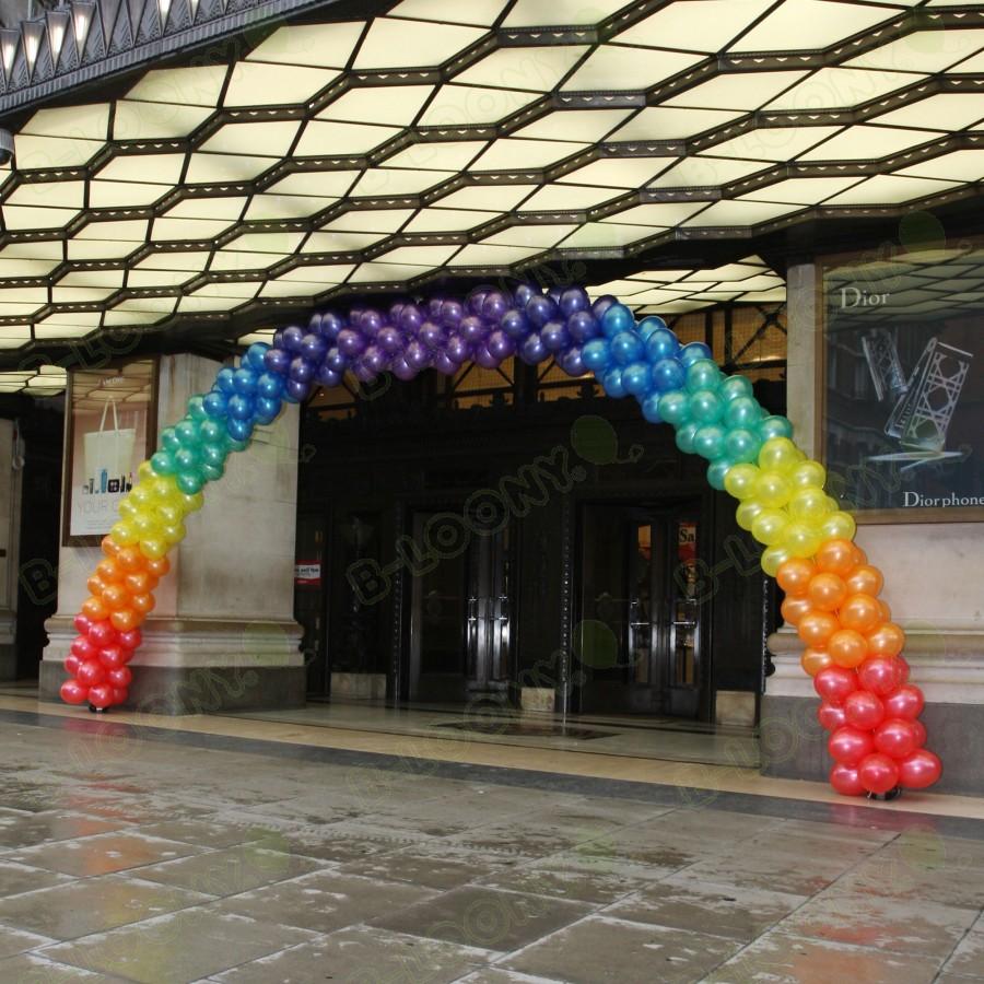 Pride Rainbow Colour Balloon Arch