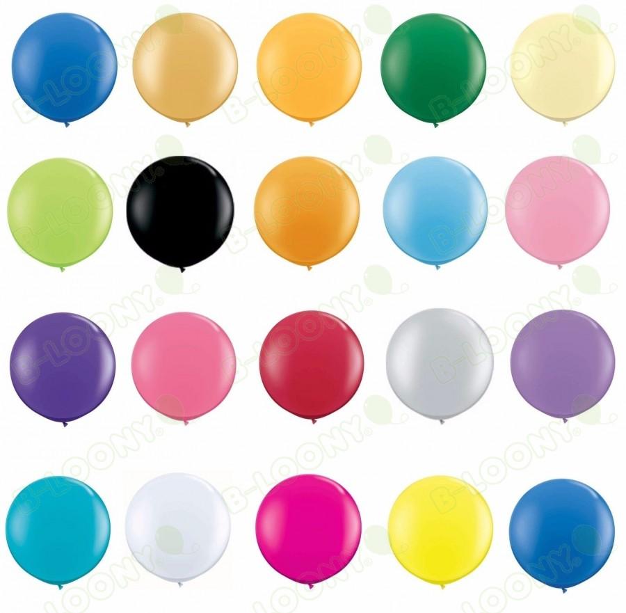 "Qualatex 36"" Latex Balloons (Pack of 2)"