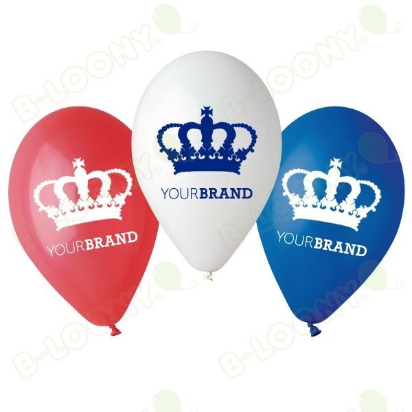 Custom Printed Royal Wedding Balloons