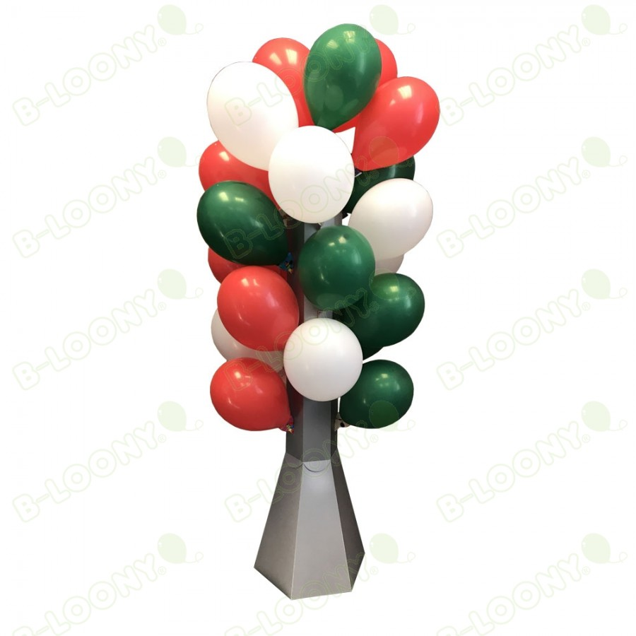 Balloon Tree for Natural Rubber Balloons on BalloonGrip Balloon Holders filled up.