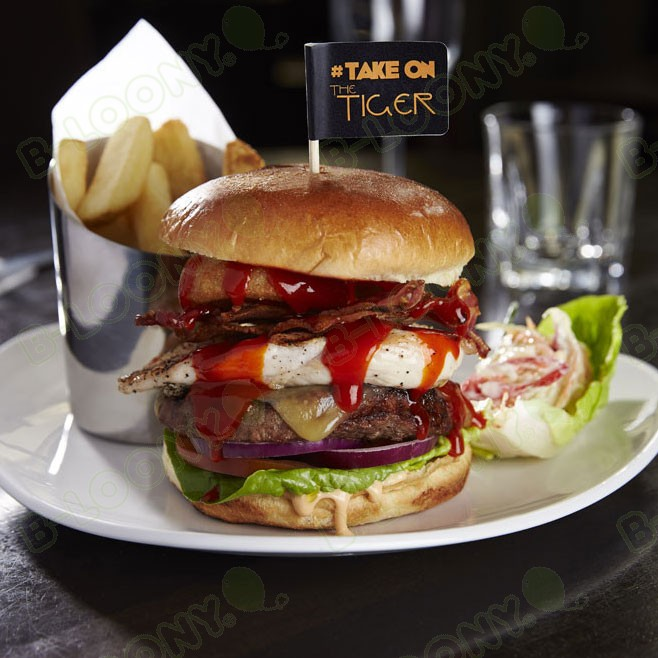 Burger Flag for Tiger Tiger #takeonthetiger Competition