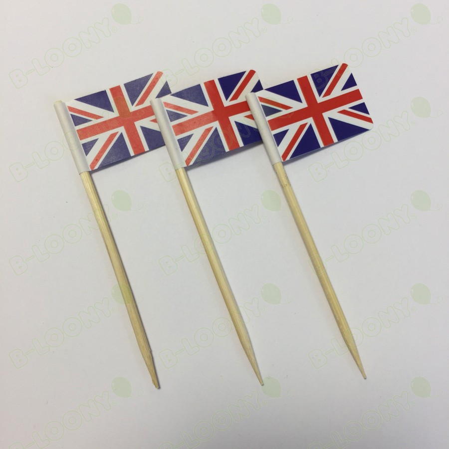 Union Jack / Union Flag Gourmet Food Flags
