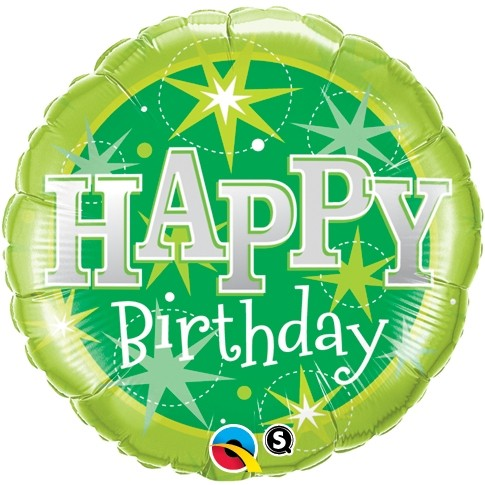 Happy Birthday Balloon - Sparkle (18 Inch)