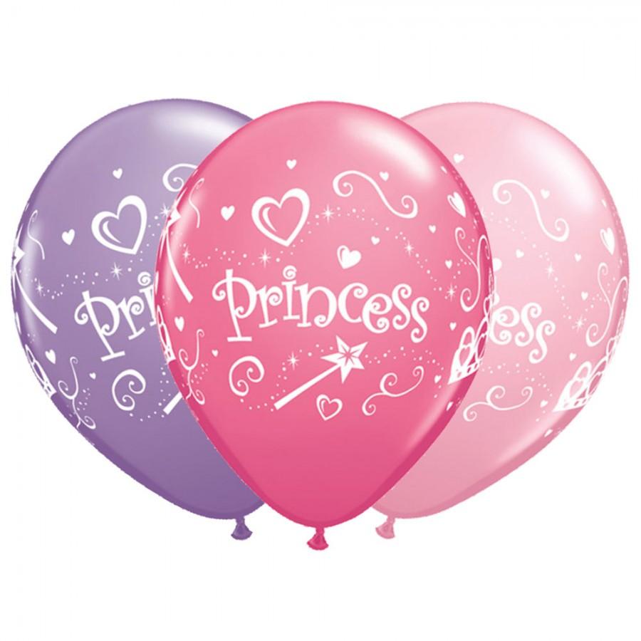 11 Inch Princess Latex Balloons