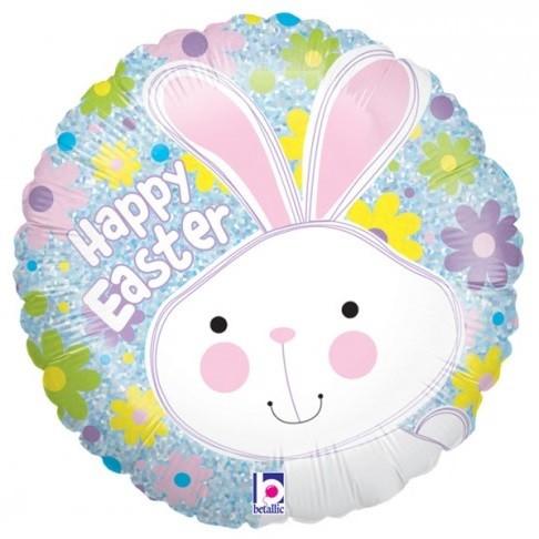 Happy Easter Bunny Helium Balloon
