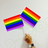 Pride Custom Printed Hand Waving Flags