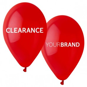 Clearance Printed Latex Balloons