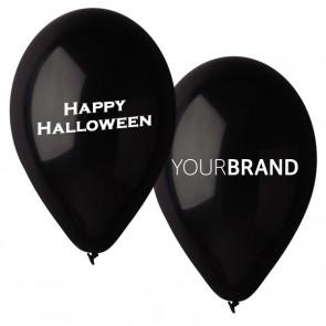 Happy Halloween Printed Latex Balloons