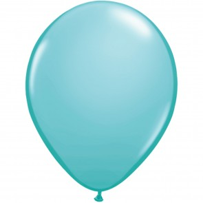 "5"" Latex Balloon Caribbean Blue (Pack of 100)"