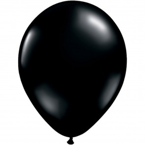 "5"" Latex Balloon Onyx Black (Pack of 100)"