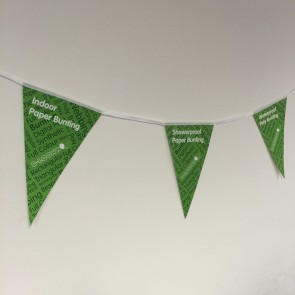 Triangular Indoor Paper Bunting