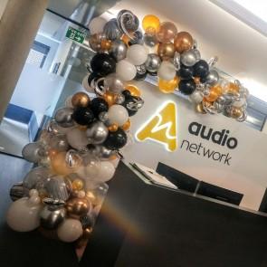Organic Balloon Art for Audio Network