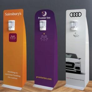 Branded Hand Sanitising Stations