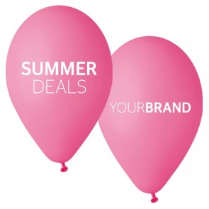 Summer Deals Printed Latex Balloons