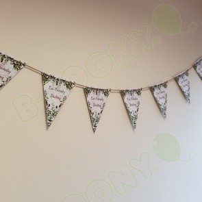 Eco Friendly Custom Printed Promotional Bunting