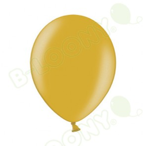 "B Range 10"" Pearlshine Gold 060 Latex Balloons (Each)"