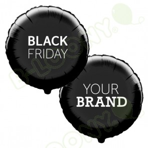 Black Friday Custom Printed Foil Promotional Display Balloons