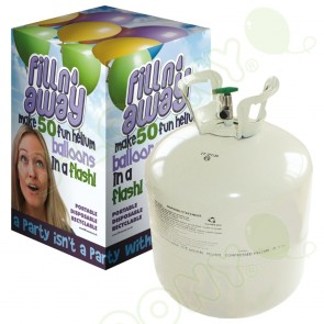 D50 Disposable Helium Gas Canister