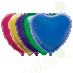"Oaktree 18"" Heart Shaped Foil Balloons"
