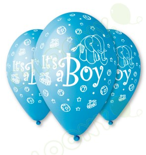 Blue It's a Boy Balloons