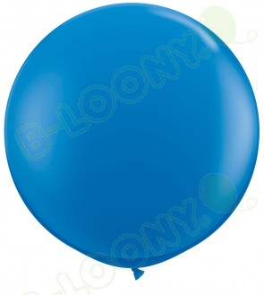 """36"""" Dark Blue Giant Balloons (Pack of 2)"""