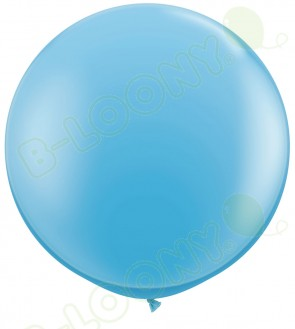 """36"""" Pale Blue Giant Balloons (Pack of 2)"""