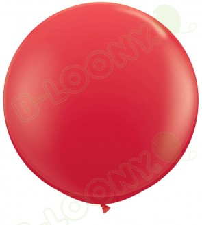 """36"""" Red Giant Balloons (Pack of 2)"""