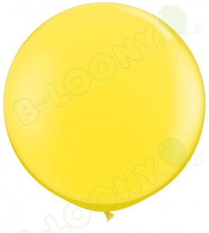 """36"""" Yellow Giant Balloons (Pack of 2)"""