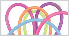 260Q Neon Modelling Balloons in Assorted Colours (Pack of 100)