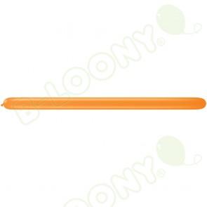 260Q Modelling Balloons Orange (Pack of 100)