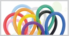 260Q Traditional Modelling Balloons in Assorted Colours (Pack of 250)
