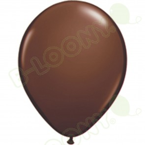 "5"" Latex Balloon Chocolate Brown (Pack of 100)"