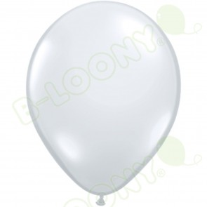 "5"" Latex Balloon Diamond Clear (Pack of 100)"