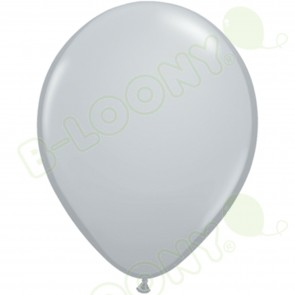"5"" Latex Balloon Grey (Pack of 100)"