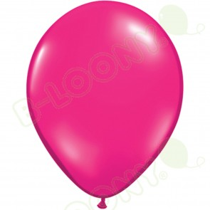 "5"" Latex Balloon Jewel Magenta (Pack of 100)"