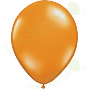 "5"" Latex Balloon Mandarin Orange (Pack of 100)"