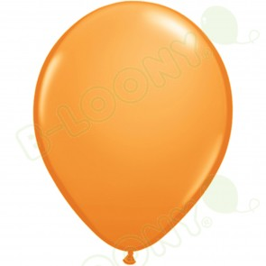 "5"" Latex Balloon Orange (Pack of 100)"