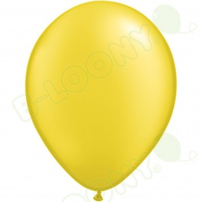 "5"" Latex Balloon Pearl Citrine (Pack of 100)"