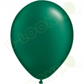 "5"" Latex Balloon Pearl Forest Green (Pack of 100)"