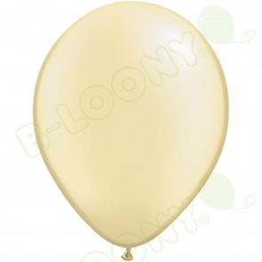 "5"" Latex Balloon Pearl Ivory (Pack of 100)"