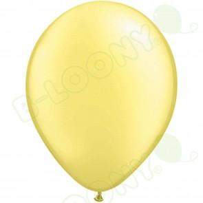 "5"" Latex Balloon Pearl Lemon Chiffon (Pack of 100)"