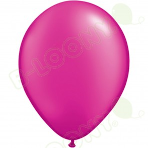 "5"" Latex Balloon Pearl Magenta (Pack of 100)"