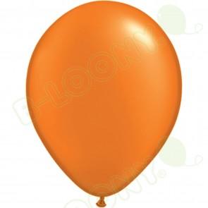 "5"" Latex Balloon Pearl Mandarin Orange (Pack of 100)"