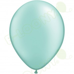 "5"" Latex Balloon Pearl Mint Green (Pack of 100)"