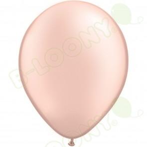 """5"""" Latex Balloon Pearl Peach (Pack of 100)"""