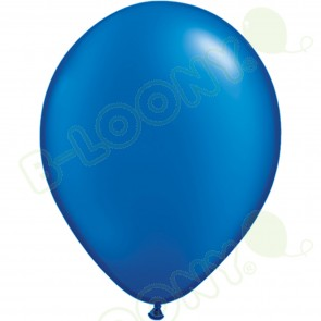 "5"" Latex Balloon Pearl Sapphire Blue (Pack of 100)"