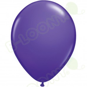 "5"" Latex Balloon Purple Violet (Pack of 100)"