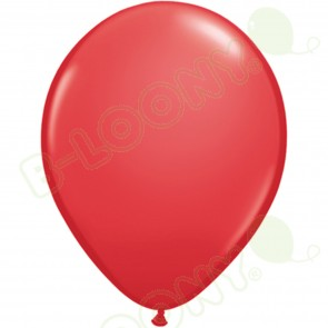 "5"" Latex Balloon Red (Pack of 100)"